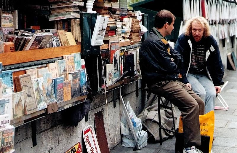 Bouquinisten an der Seine, noch gut für trouvaillen, 1994