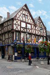 Bourges - Fachwerkhäuser aus dem 15. und 16. Jh.