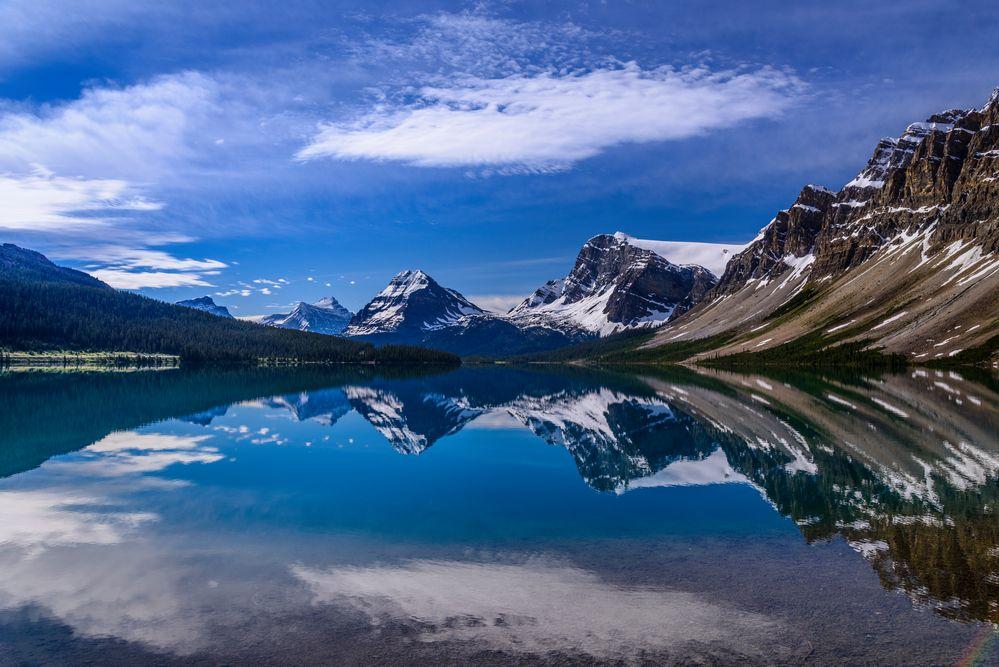 Bow Lake 1, Icefields Parkway, Kanada