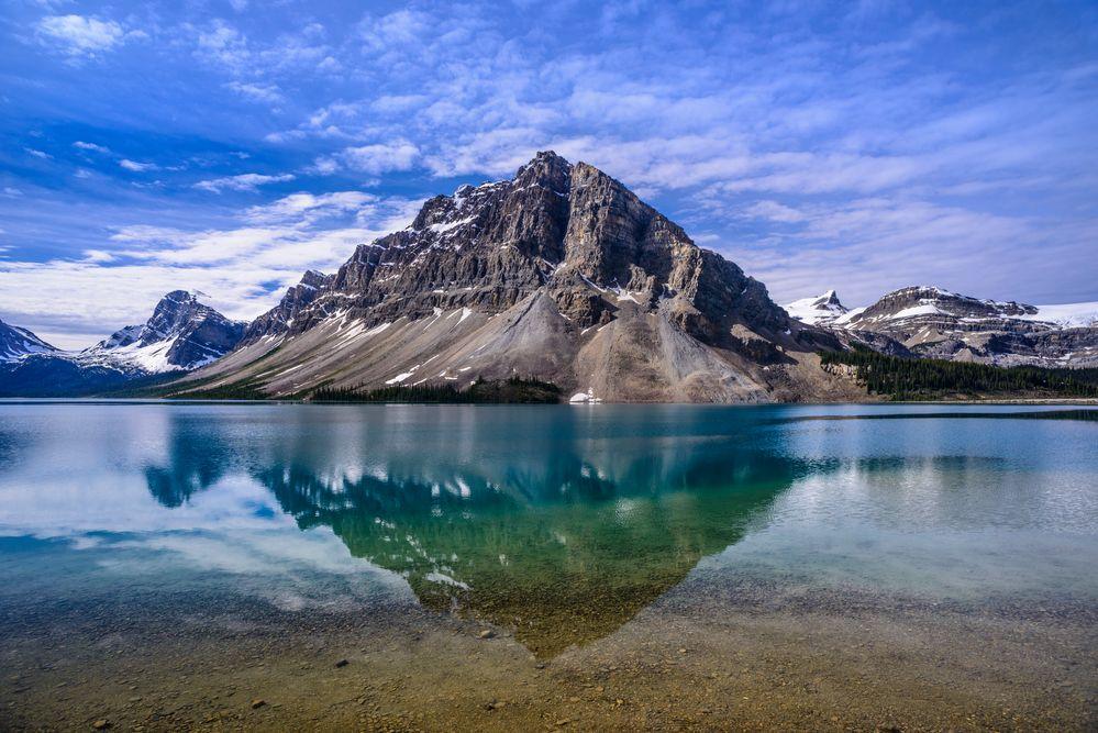 Bow Lake 2, Icefields Parkway, Kanada