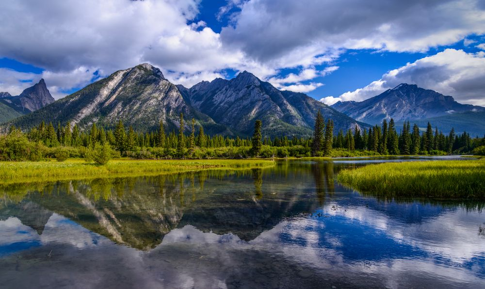 Bow River Valley, Banff, Kanada