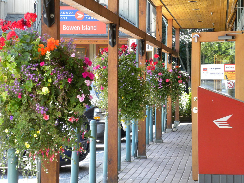 Bowen Island Post Office.British Columbia.Canada.