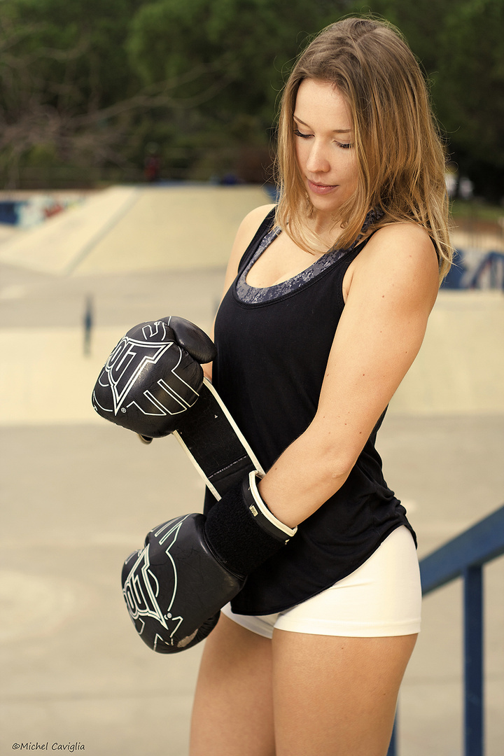 Boxe with Mathilde