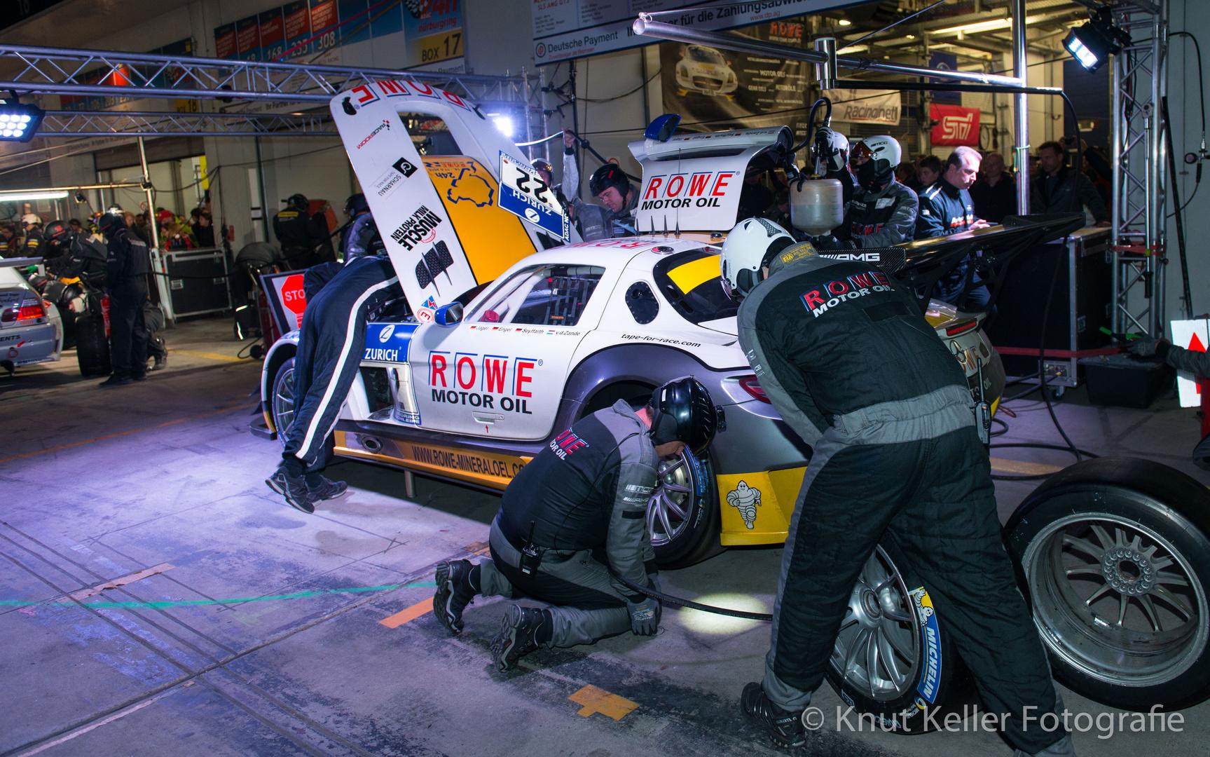 Boxenstop, 24h-Rennen 2015