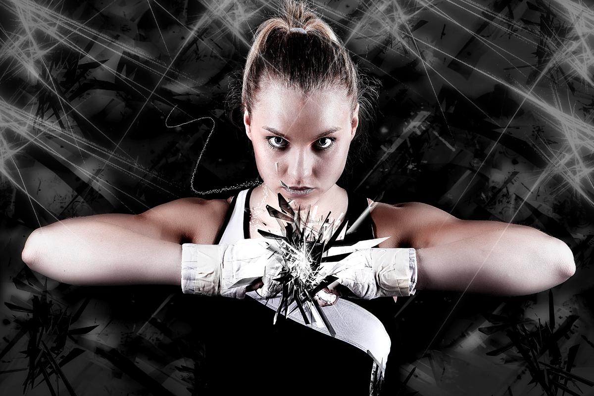 Boxweltmeisterin Goda Dailydaite