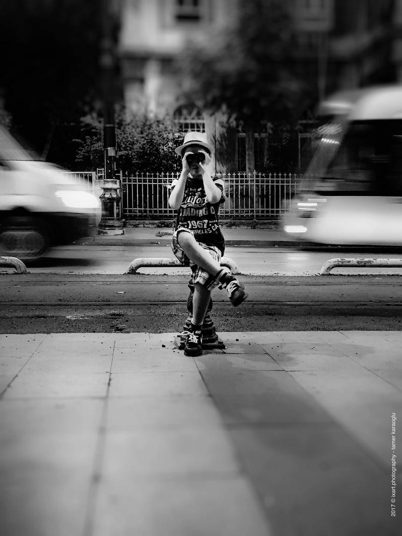 Boy on the street