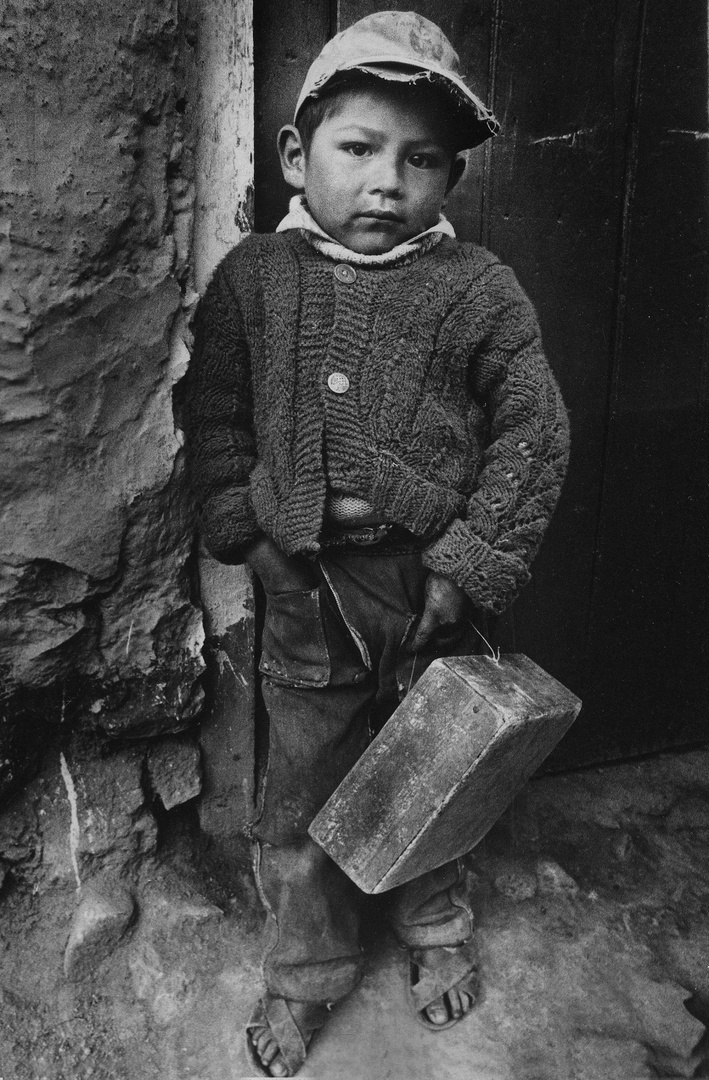 Boy with A Box