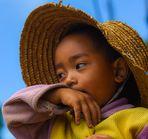 boy, Yunnan rice terraces