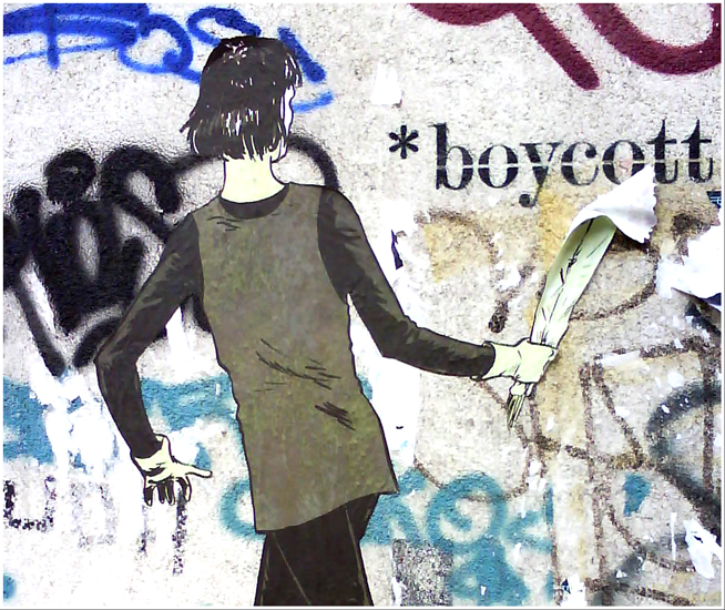 * boycott