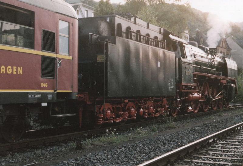 BR 01 Sonderzug zu Rhein in Flammen FFM-KO