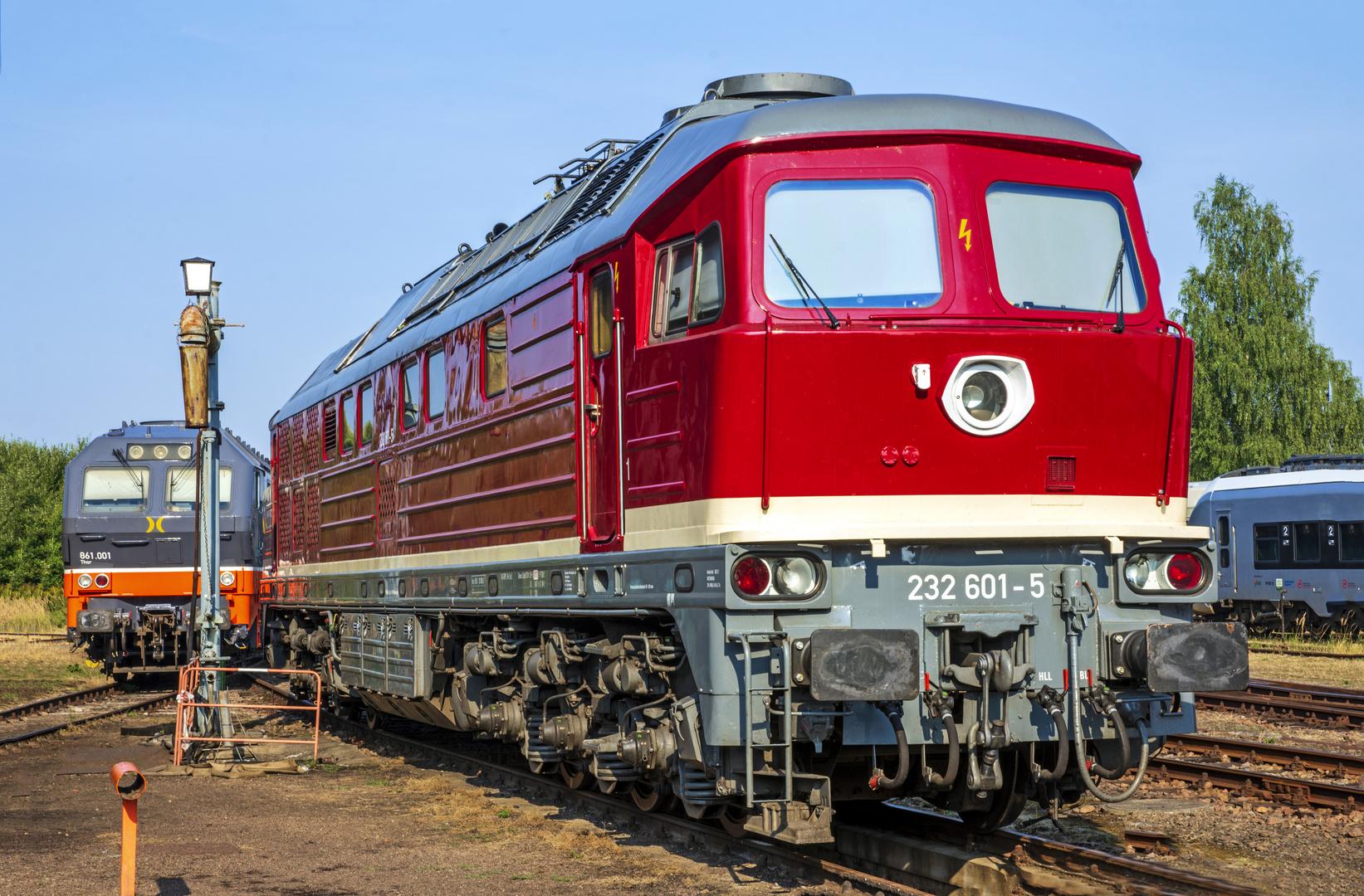 BR 232 601-5 Hilbersdorf 2018
