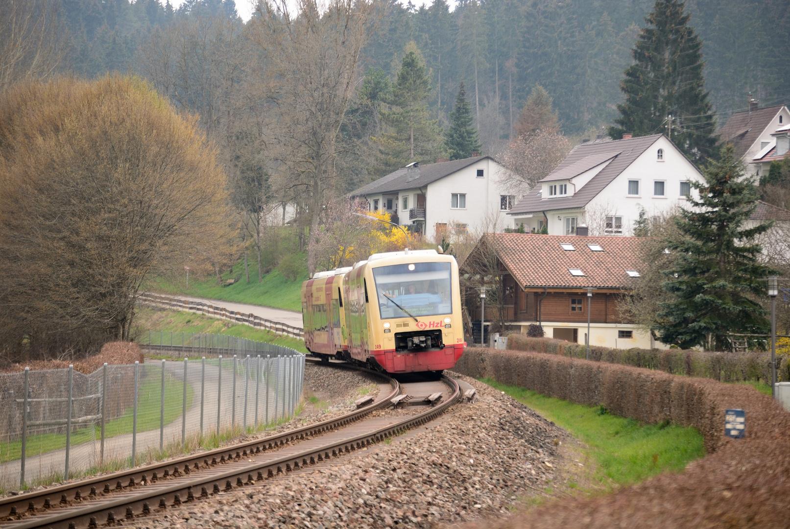BR 650 nach Tuttlingen