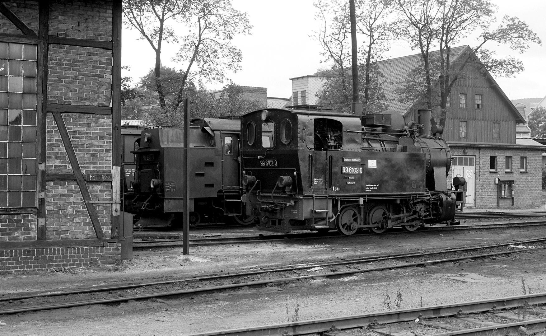 BR 99 6102 Wernigerode 1982 Aug.