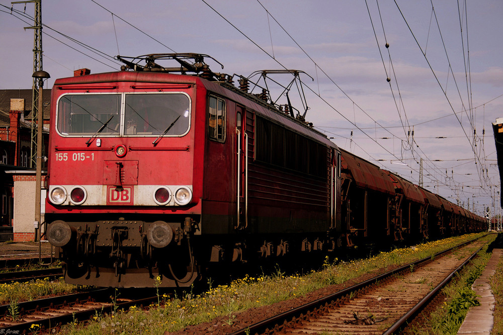 Br.155 in Stendal Hbf