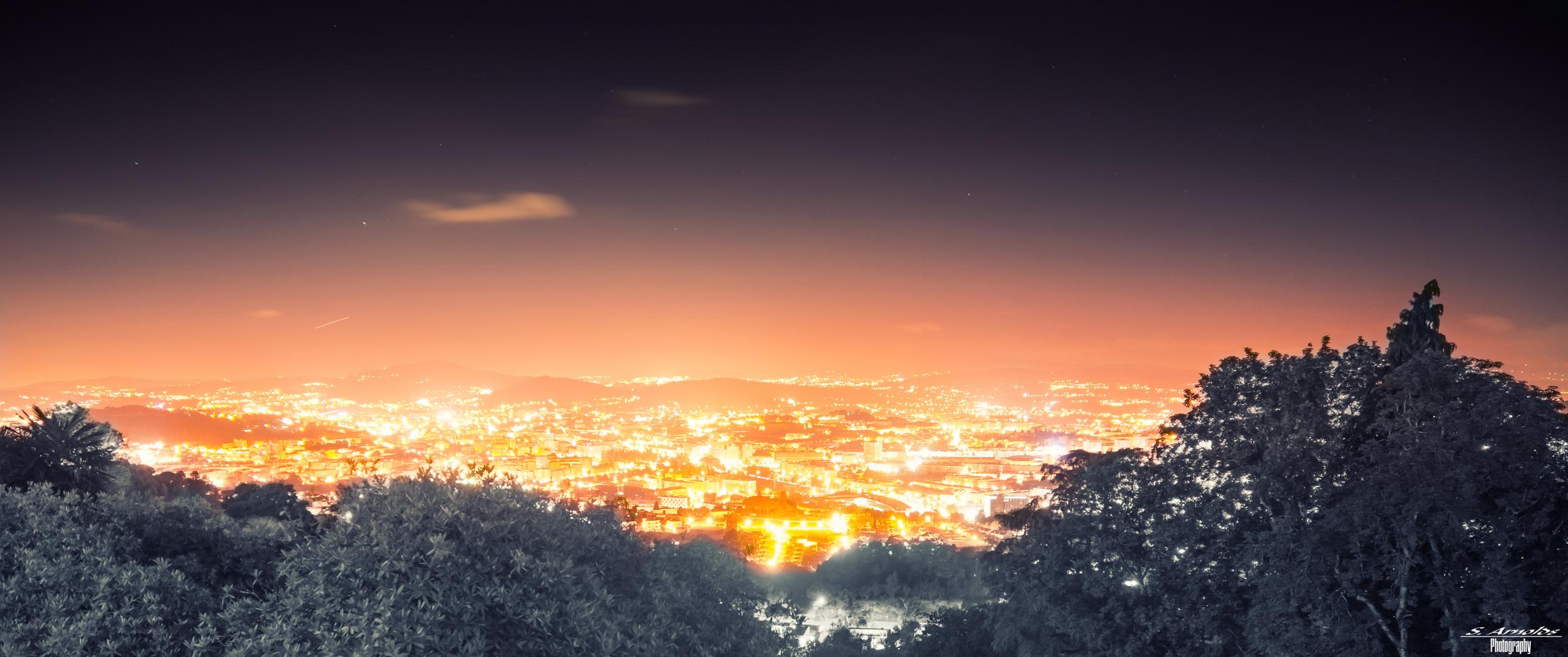 Braga(Portugal) bei Nacht