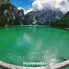 Braies lake - panoramic