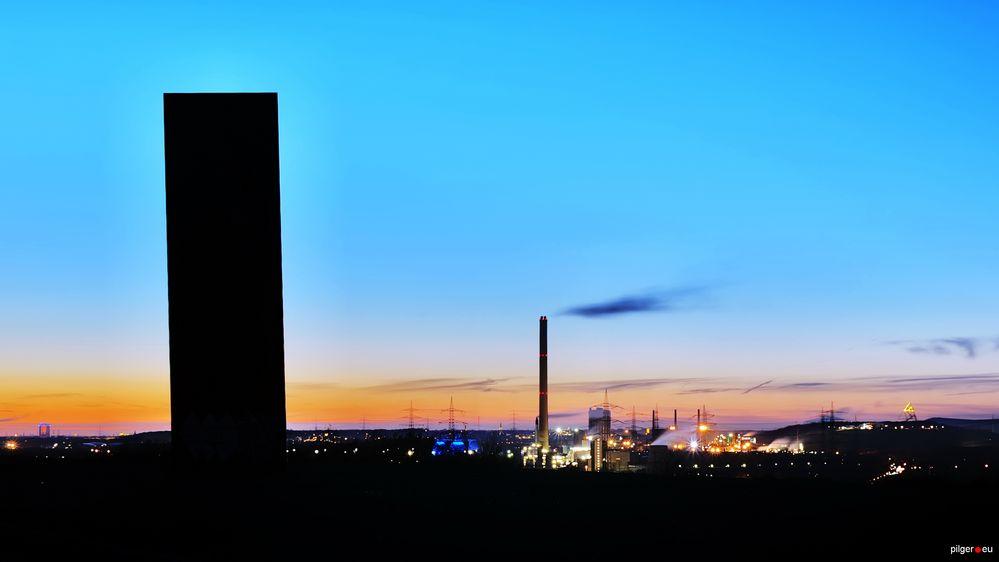 Bramme für das Ruhrgebiet - Schurenbachhalde