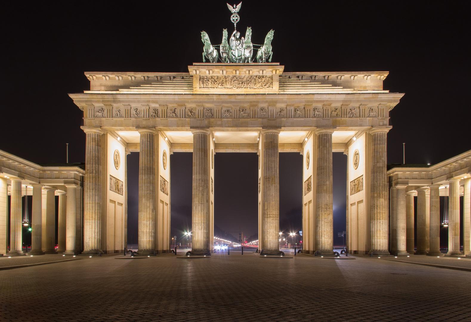 Brandenburger Tor 2016 Foto Bild Architektur Architektur Bei Nacht Berlin Bilder Auf Fotocommunity