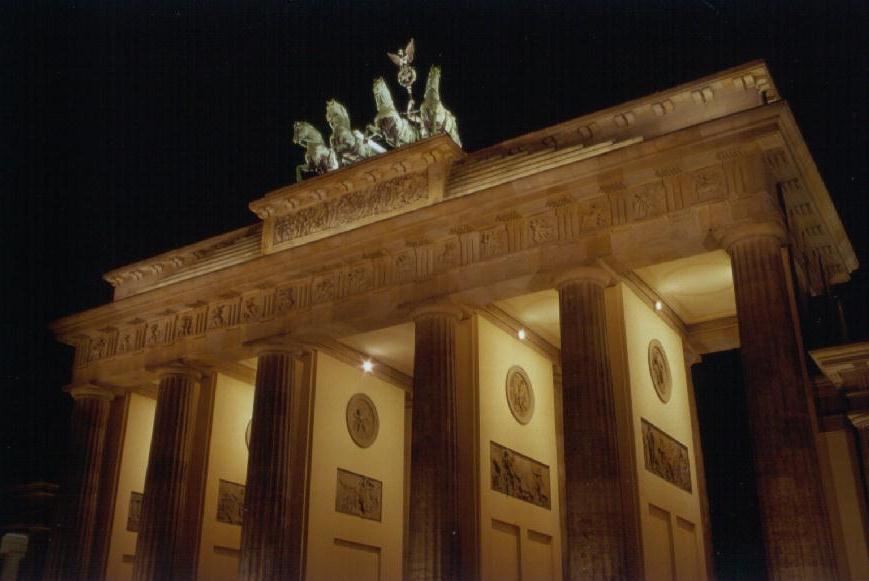 Brandenburger Tor 28.12.2002