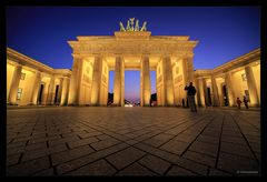 Brandenburger Tor am Ende der bürgerlichen Dämmerung