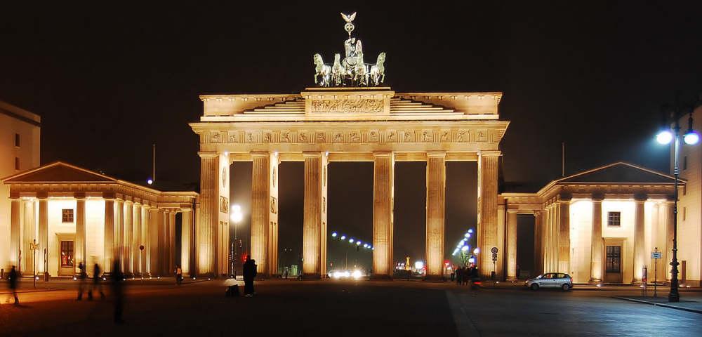 Brandenburger Tor bei Nacht Reloaded