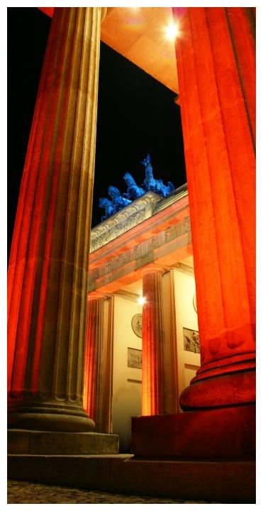 Brandenburger Tor - Festival of Lights 2005