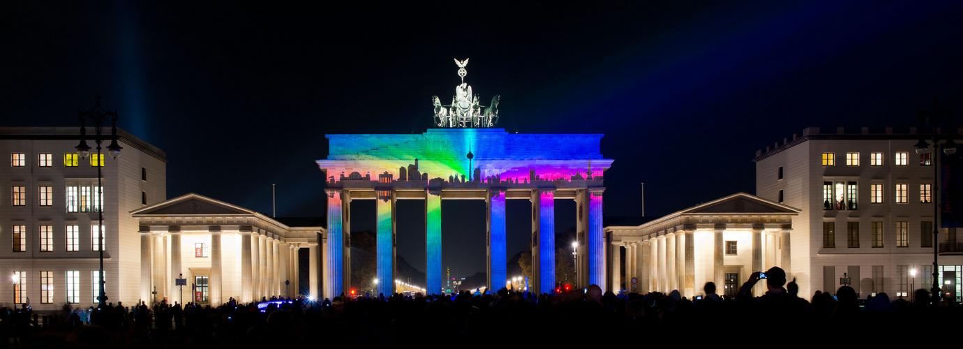 Brandenburger Tor - Festival of Lights 2013