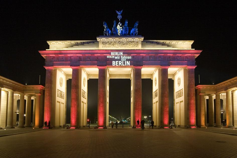 Brandenburger Tor - Festival Of Lights