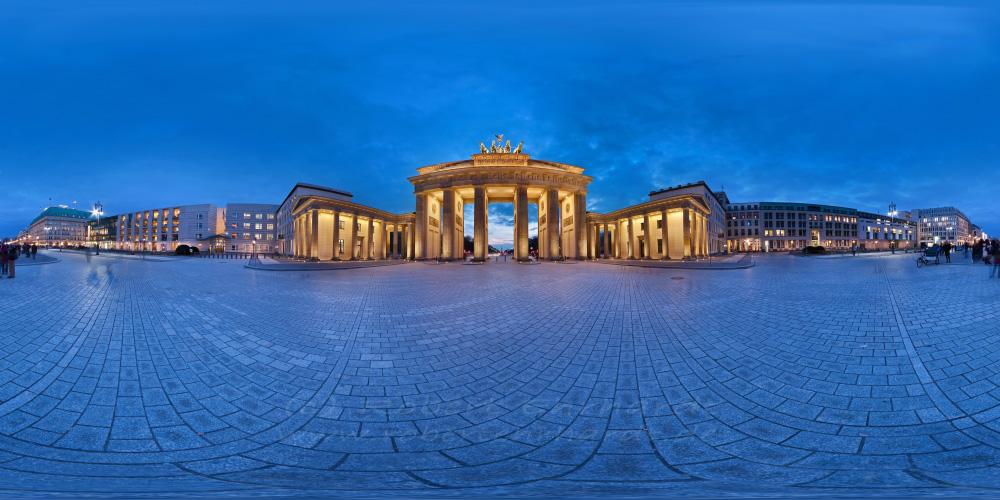 Brandenburger Tor, Kugelpanorama 360°x180°