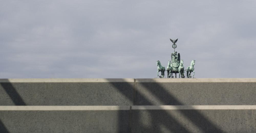 Brandenburger Tor ohne Tor
