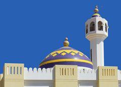 Brandneue Moschee