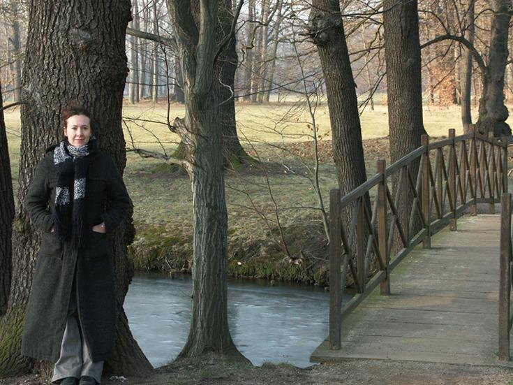 Branitzer Park im Winter 2004