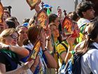 Brasilianische Pilger der Schoenstatt-Bewegung