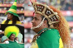 Brasilien-Fans...