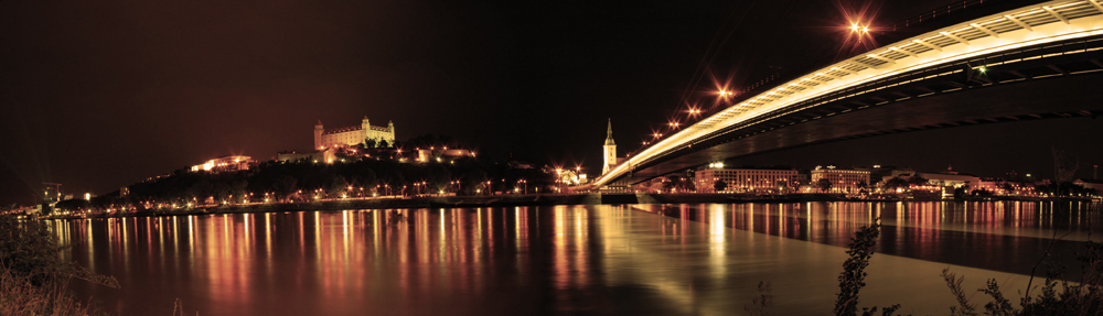 Bratislava Donau Juli 2008