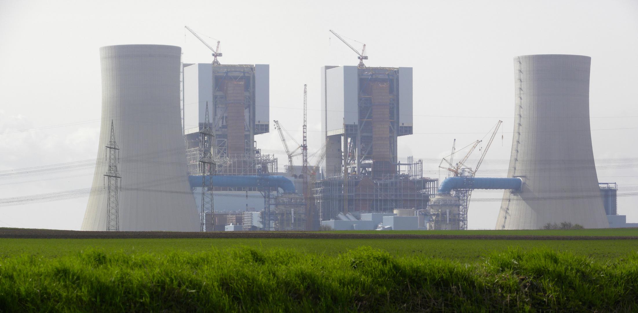 Braunkohlekraftwerk Neurath - Neubau