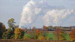 Braunkohlenkraftwerk am Niederrhein