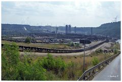 Braunkohlentagebau Garzweiler - Transportanlagen