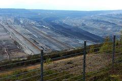 Braunkohlentagebau Hambach Abbaugebiet