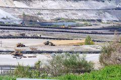 Braunkohlentagebau Inden - Abbaufläche