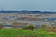 Braunkohlentagebau Inden - Ausgrabungsflächen