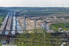 Braunkohlentagebau Inden-Transportanlagen