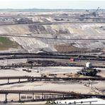 Braunkohlentagebau RWE in Inden