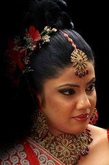 Braut auf Sri Lanka