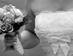 Braut im Detail