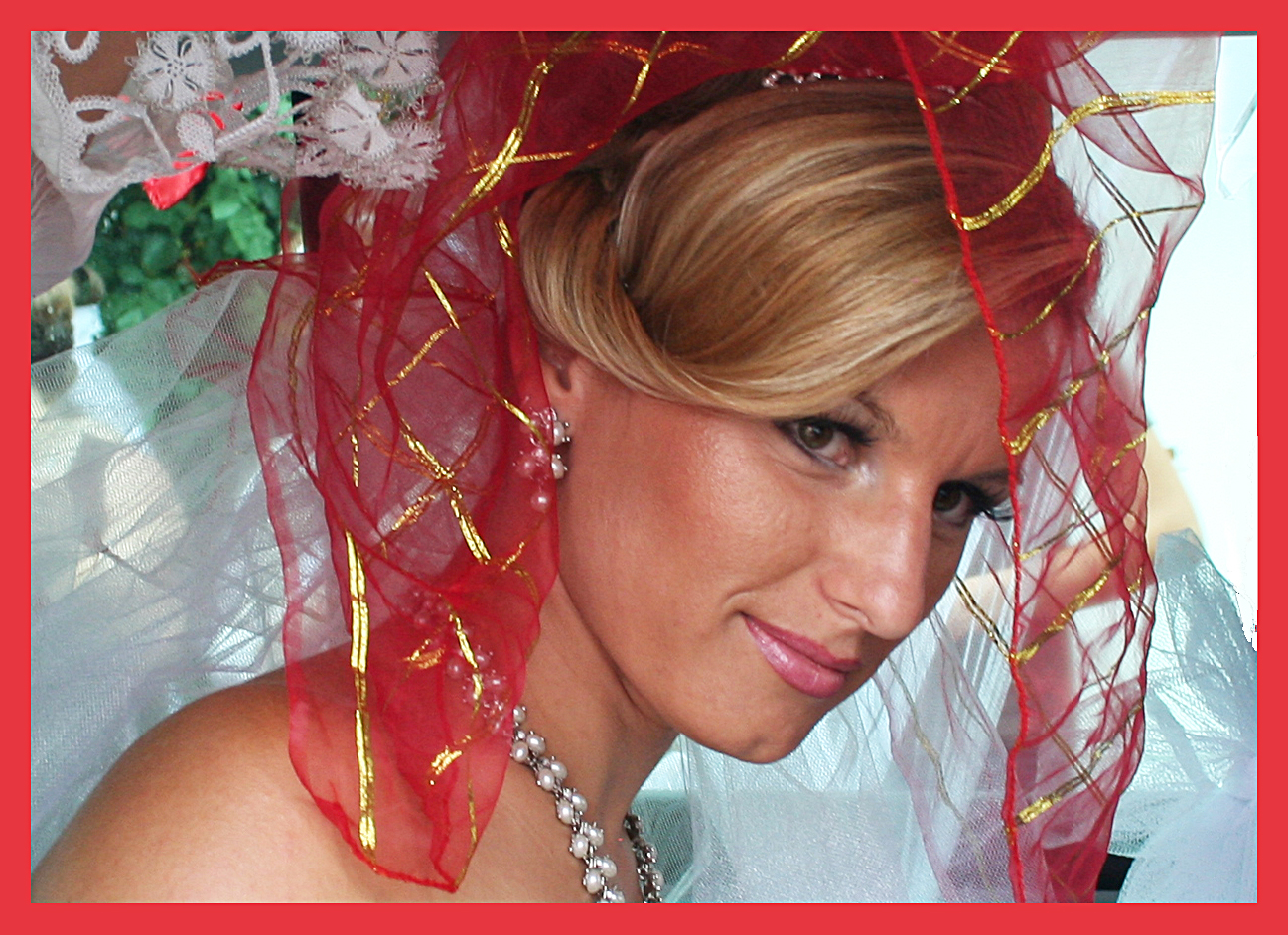 Braut im Kosovo