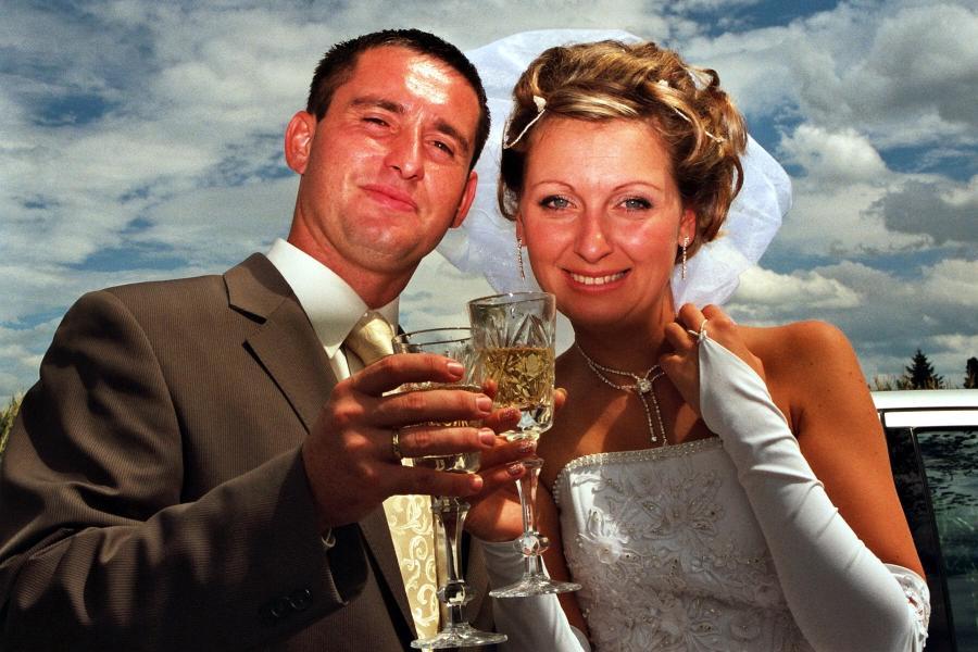 Braut paar