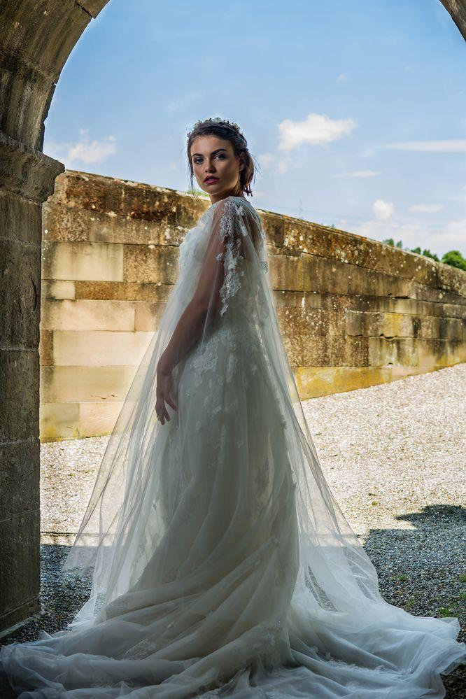 Brautmode Shooting mit Natalie