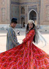 Brautpaar in Samarkand