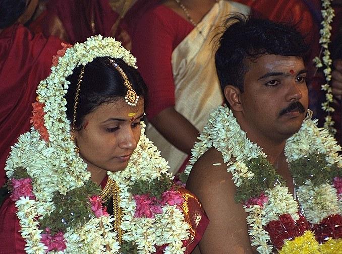 Brautpaar - Madras - Südindien